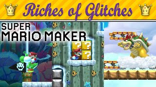 getlinkyoutube.com-Riches of Glitches in Super Mario Maker (Glitch Compilation)