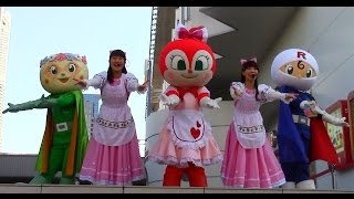 getlinkyoutube.com-アンパンマンショー ドキンちゃん、メロンパンナちゃん、ロールパンナちゃんの歌とダンス♪ 最前列高画質 Anpanman kidsshow