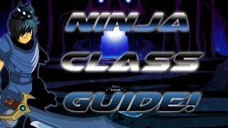 getlinkyoutube.com-AQW: Ninja/Assassin Class Guide! (Enhancements, Combos, PVP)