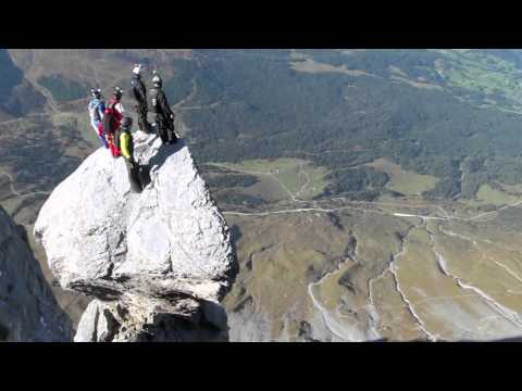 Base Jump off the Eiger's North Face