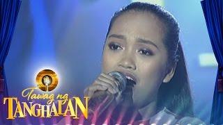getlinkyoutube.com-Tawag ng Tanghalan: Joylaine Canonio | Ngayon At Kailanman (Round 3 Semifinals)