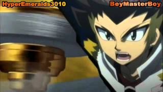HD Beyblade AMV: Beat Lynx vs Rock Zurafa