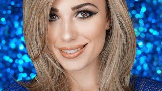 getlinkyoutube.com-♥ Tartelette in Bloom Palette Makeup Look Tutorial   Victoria Lyn Beauty