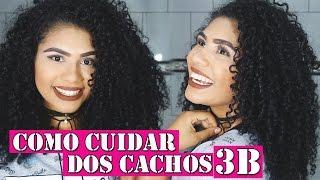 getlinkyoutube.com-COMO CUIDAR DE CABELOS CACHEADOS DO TIPO 3B