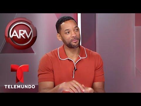 Al  Rojo Vivo | María Celeste Arrarás entrevista al actor Will Smith | Telemundo ARV