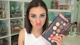 getlinkyoutube.com-Smashbox #ShapeMatters Palette | Worth the Hype?