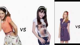 Rebelde VS Violetta VS Carrossel
