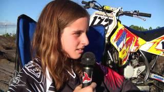 getlinkyoutube.com-A Day in the Life of Hannah Hodges motocross