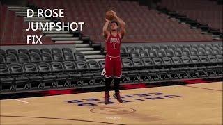 2k16 Derrick Rose Jumpshot Fix