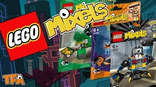getlinkyoutube.com-(TFAF) LEGO Mixels Series 9 Packages