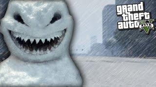 GTA 5 Mods   FROSTY THE SNOWMAN APOCALYPSE!! (GTA 5 Mods Gameplay)