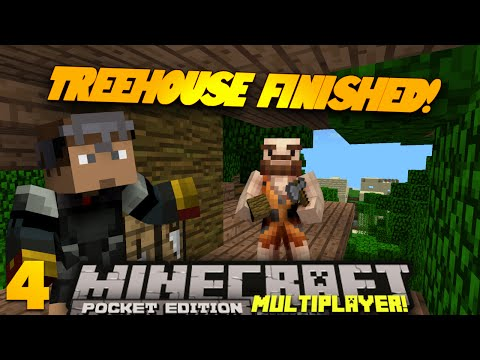 Minecraft PE Multiplayer 0.9.0 EP 4
