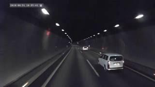 getlinkyoutube.com-高速道路の走り方を知らないプリウスが、またいた!絶対に走行車線を走りたくない病!