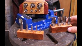getlinkyoutube.com-Drill bit holders out of scrap wood