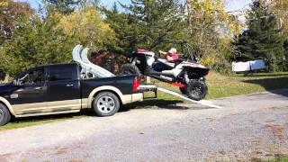getlinkyoutube.com-ATV or UTV truck carrier/hauler for your  RZR xp1000, Wildcat
