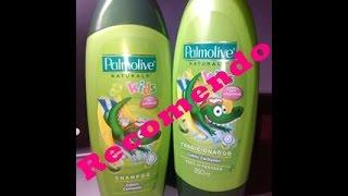 getlinkyoutube.com-Resenha: Shampoo e Condicionador Palmolive Kids = Jaciara Lima