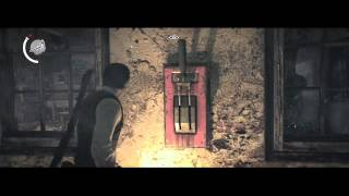 getlinkyoutube.com-The Evil Within Chapter 3: Claws of the Horde EASY Chainsaw BOSS Kill