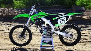 getlinkyoutube.com-2016 Kawasaki KX250F - The 16s Dirt Bike Magazine