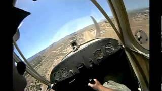 getlinkyoutube.com-1946 Aeronca Champ Airplane Windy Landing (headset POV) Scary!
