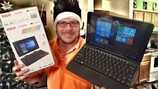 getlinkyoutube.com-Revisión RCA Cambio Tableta con Teclado Windows 10 - $129
