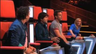 getlinkyoutube.com-The best of the voice Kids- blind auditions