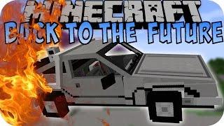 getlinkyoutube.com-Minecraft ZURÜCK IN DIE ZUKUNFT (Hoverboard, DeLorean) [Deutsch]
