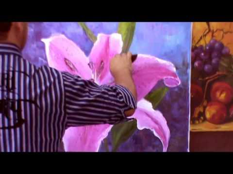Curso Pintura em Tela Online-Artista Cido Oliveira