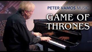 getlinkyoutube.com-Game of Thrones - Main Theme Piano Cover by Peter Vamos