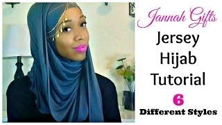getlinkyoutube.com-Jersey Hijab Tutorial   6 Styles   Jannah Gifts