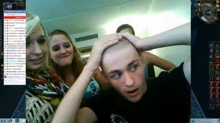getlinkyoutube.com-Sodapoppin's Head Gets Shaved
