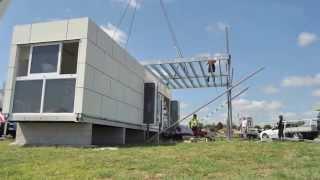 getlinkyoutube.com-Granny Flats - Modular Prefabricated Container Home - The Milan