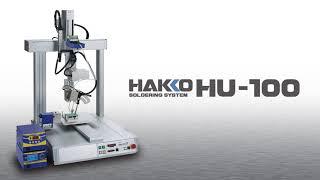HAKKO HU-100; 4-Axis Table-Top Type Soldering Robot