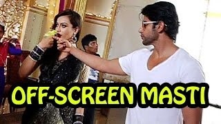 getlinkyoutube.com-Off-screen fun on Qubool Hai set