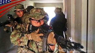 【離島防衛】陸上自衛隊の近接戦闘(CQB) & 120mm迫撃砲訓練 渡米演習アイアン・フィスト2017