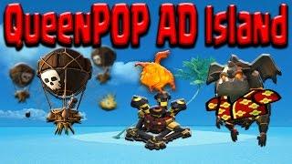 getlinkyoutube.com-Queen POP AD Island by Clash Tutor | Clash of Clans TH9 BEST Strategy Guide OP