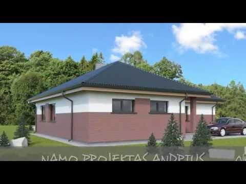Vieno aukšto namo projektas Andrius   NPS projektai - namų projektavimas, statyba