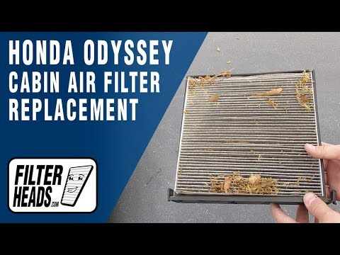 How to Replace Cabin Air Filter 2005 Honda Odyssey