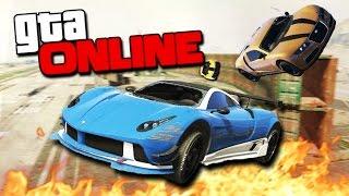 getlinkyoutube.com-GTA 5 Online (Гонки + УГАР) - Невероятные рампы! #104