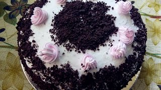 getlinkyoutube.com-Black Forest Cake Without Oven.  Recipe Learn in  2 minutes