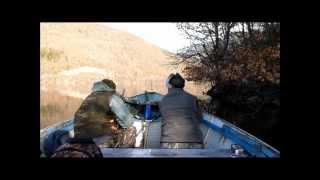 getlinkyoutube.com-Lov na divi patki na Globocicko ezero Januar  2013.mp4