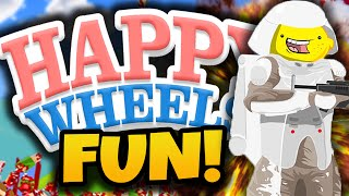 "getlinkyoutube.com-Happy Wheels Funny Moments! - ""EPIC FAN LEVELS!"" - (Happy Wheels Gameplay)"