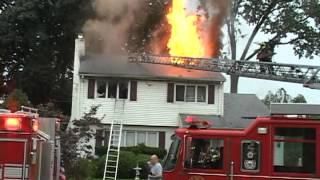 getlinkyoutube.com-Maywood,nj Fire Department House Fire