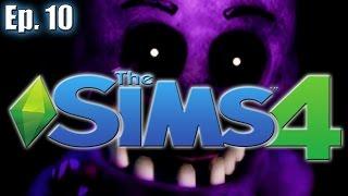 getlinkyoutube.com-Purple Man Will Kill Again... - The Sims 4: FNAF Theme - Ep. 10