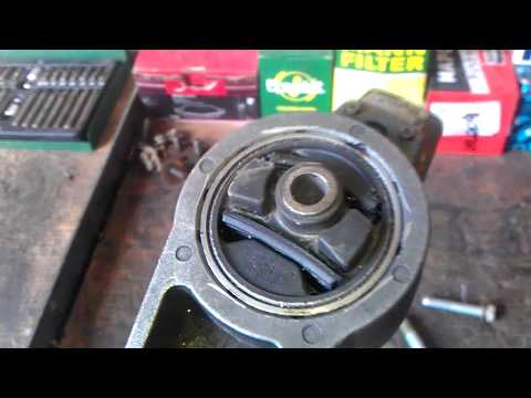 Chrysler pt cruiser ремонт верхней опоры двигателя