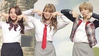 TWICE, Sexy Dance In School Uniform 최강 일진 트와이스의 '섹시 댄스' @웃찾사 166회 20161026