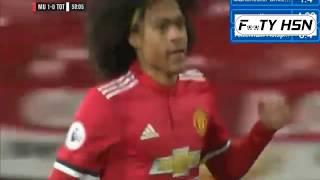 Tahith Chong Goal _ Man United U23s vs Tottenham U23s - Premier League 2 29-01-2018
