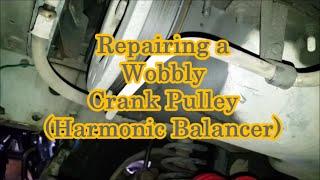 Replacing Harmonic Balancer - 97+ 4.0L Jeep XJ (Crank Pulley)