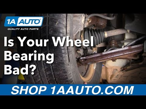 How Do I Tell If I Have a Bad Front Wheel Bearing Hub Assembly? 1AAuto.com