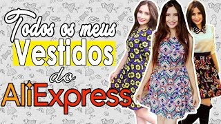 getlinkyoutube.com-TODOS MEUS VESTIDOS DO ALIEXPRESS