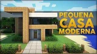 getlinkyoutube.com-Minecraft: Construindo uma Pequena Casa Moderna 3